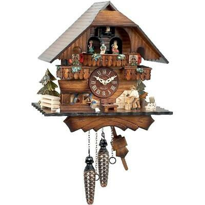 Alexander Taron 470QMT Engstler Battery-operated Cuckoo Clock - Full Size