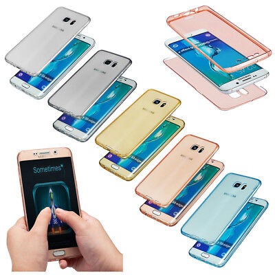For Samsung Galaxy J3 J5 J7 Prime Full Body Soft TPU Gel Case Shockproof Cover