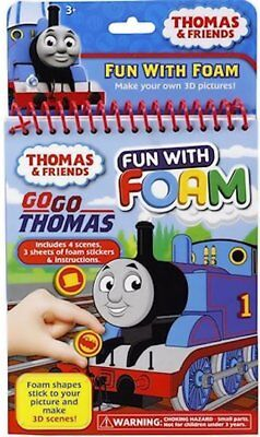 Thomas & Friends Fun With Foam DIY 3D Pictures Boys Craft Novelty Party Favor