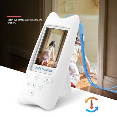 2 Way Wireless Digital Color LCD Baby Monitor Camera Night Vision Audio Video