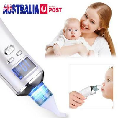Baby Electric Nasal Aspirator Nose Cleaner Congestion Nasal Suction Device AU
