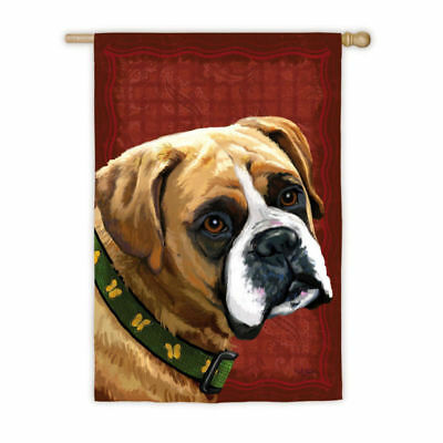 Large Outdoor BOXER II Dog Breed Full-Size House Flag 29 x 43 CLEARANCE