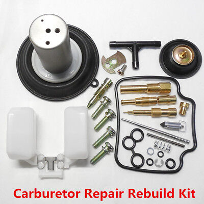 New Carburetor Repair Rebuild Kit For GY6 125CC ATV Go Kart Scooter 22MM Plunger