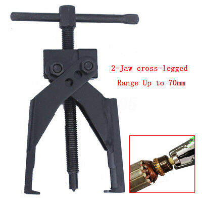 Up to 70mm Gear Bearing Puller 2-Jaw Extractor Pilot Remover Tool For Car SUV