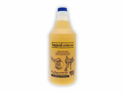 Equine America Fungatrol Leather Soap Spray-1 litre-For All Leather Tack-BN