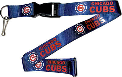 Chicago Cubs Lanyard Keychain Key Chain Keyring MLB New