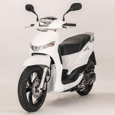 Peugeot Tweet 125Cc Abs Scooter - White - Brand New - Zero Miles - Unregistered