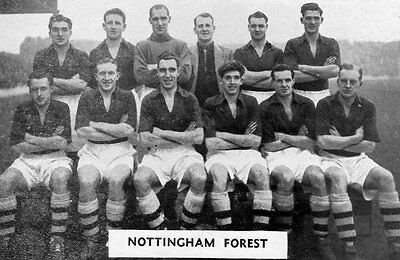 Nottingham Forest Football Team Photo>1948-49 Season
