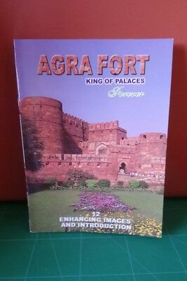 Agra Fort India King Of Palaces Book Of 12 Postcards Unused