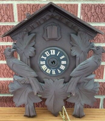 Henry Coehler Cuckoo Clock Parts For Repair Restoration-No Pendulum, No Weights