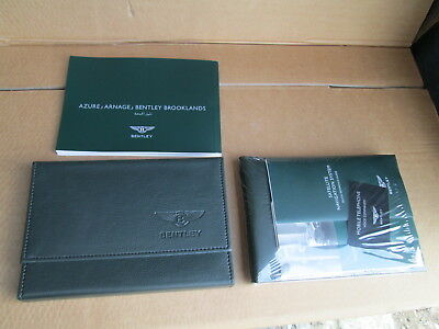 New Bentley Arnage Red Label Lwb Service Hand Book Wallet Pack Arabic 3Z4012025P