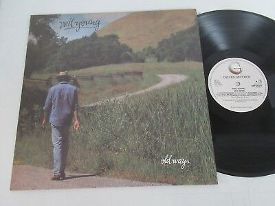 Neil Young/old Ways  Lp 1985 Cbs Geffen Gef 26377