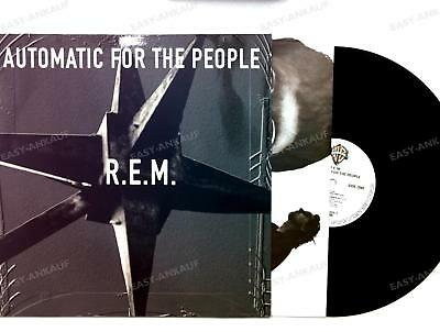 R.E.M. - Automatic For The People UK & Europe LP 1992 + Innerbag /4