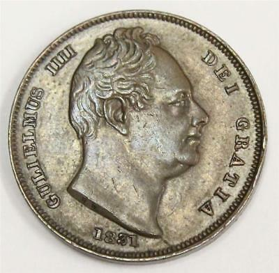 1831 Great Britain Farthing S3848 EF45