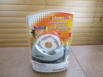 Clean Dr. Motorized Disc Cleaner New Sealed