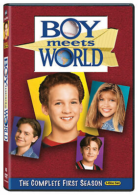 Boy Meets World - The Complete First Season DVD 2010 - 3-Disc Set