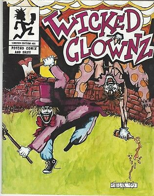 Wicked Clownz Limited Edition #01 Psycho Comix & ShXT Insane Clown Posse