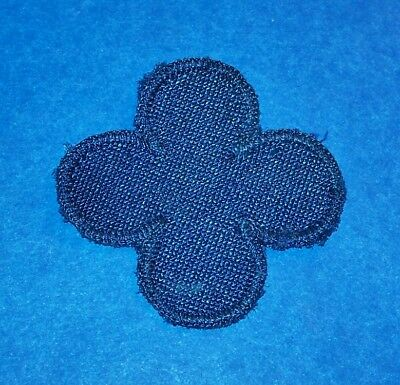 ORIGINAL CUT-EDGE WW2 ITALIAN MADE WOVEN SATIN 88th INFANTRY DIVISION PATCH!