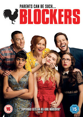 Blockers DVD (2018) Leslie Mann, Cannon (DIR) cert 15 FREE Shipping, Save £s
