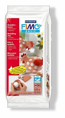 Staedtler Fimo Air Basic 8101-76 Air Drying Modelling Clay 1kg - Terracotta