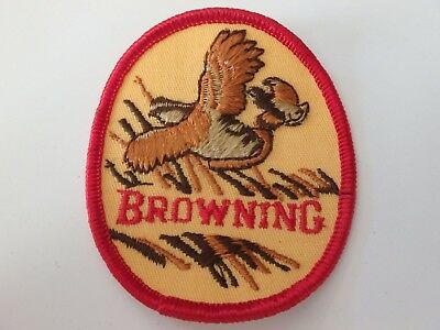 "Browning Hunting Jacket Patch Excellent Condition 2 1/2"" X 3"""