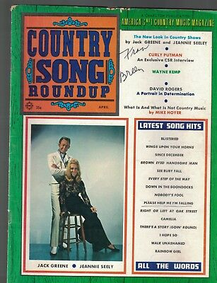Country Song Roundup April 1970 #129 Gene Autry Jack Greene Jeannie Seely