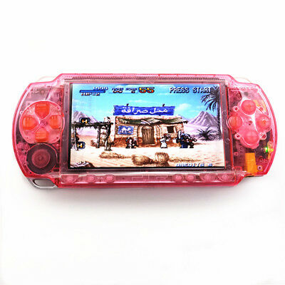 Refurbished Sony PSP-1000 Clear Pink Handheld System Game Console