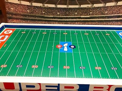 1970 Tudor NFL Super Bowl Electric Football Game 3 Teams Players Men Accessories