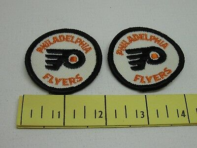 Philadelphia Flyers Vintage Patches Two inch 1970's New Old Stock Two of