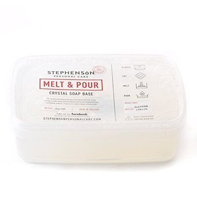 Melt And Pour Soap Base Clear Sls Free - 2kg