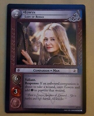 Lotr Tcg Promo Card - Op17 Eowyn - Lady Of Rohan