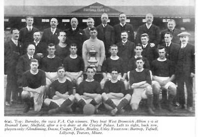 Barnsley Football Team Photo>1911-12 Season