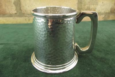 A very nice antique Silver Plated John Batt & Co ltd  Tankard VGC