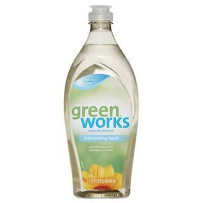 Tilex 31359EA 22 oz Squeeze Bottle Dishwashing Liquid - Free & Clear