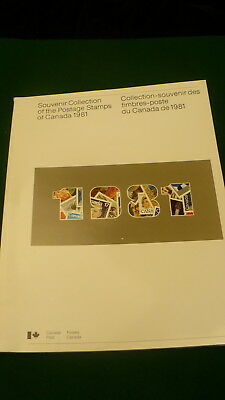 Canada Post souvenir Collection postage stamps 1981 magazine