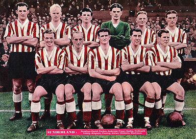 Sunderland Football Team Photo>1955-56 Season