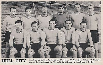 Hull City Football Team Photo 1965-66 Season