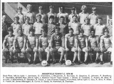 Mansfield Town Football Team Photo>1979-80 Season