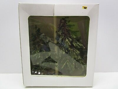 Department 56 Village Hemlock Trees set of 2 in Box