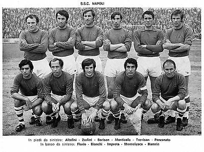 Napoli Football Team Photo>1969-70 Season