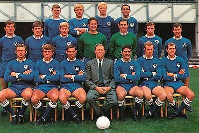 Portsmouth Football Team Photo>1968-69 Season