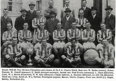 West Bromwich Albion Football Team Photo 1919-20 Season