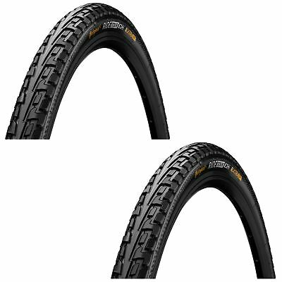 Continental Bike Tires >> 2x Continental Bike Tyre Ride Tour Rigid In Black 27 X 1 1 4 Bicycle Tire