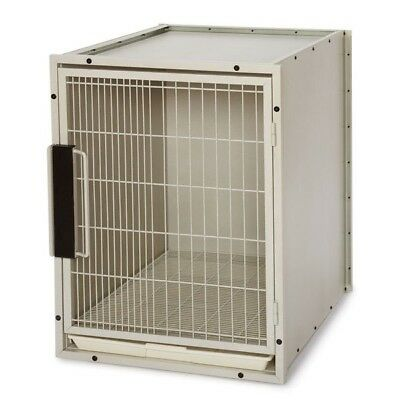 Proselect ZW5202 24 11 ProSelect Modular Kennel Cage Sm Sandstone S