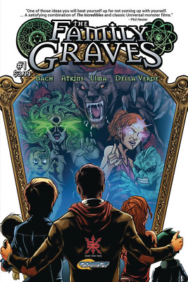 The Family Graves #1 (of 4) Comic Book 2018 - Source Point Press
