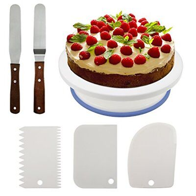 10.8   Cake Decorating Turntable, Rotating Cake Stand Decorating Turntable Suppl