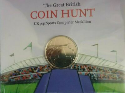 Official 2012 London Olympic UNC COMPLETER MEDALLION/COIN 2ND Edition SCARCE