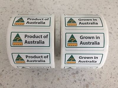 COOL - Country Of Origin Self Adhesive Labels - POS QTY: 1,000