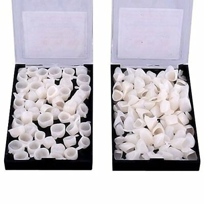 100pcs High Quality Dental Temporary Crown Veneers Material Anterior Front Back