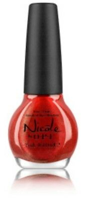 Nicole by OPI Nail Lacquer WHO RED MY JOURNAL??? (NI F17)